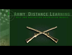 Army Distance Learning Intro