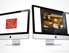 520 Bar and Grill Website