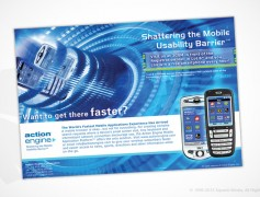 Action Engine 3GSM Ad
