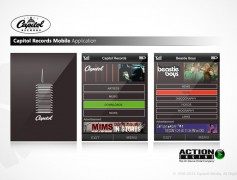 Capitol Records Mobile App