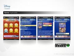 Disney Mobile Games App