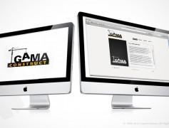 Gama Construct Website