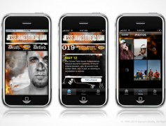 Jesse James Mobile App