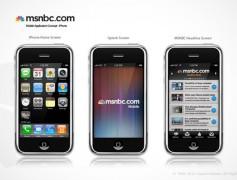 MSNBC iPhone Mobile App