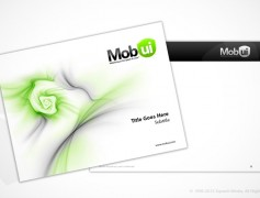 Mobui PowerPoint Template