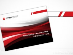 Verona Systems PPT Template