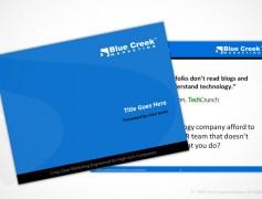 BlueCreek Marketing Template
