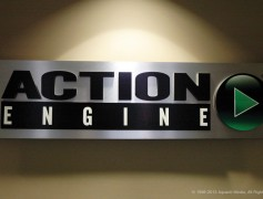 Action Engine Wall Sign