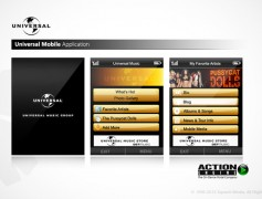 Universal Music Java App