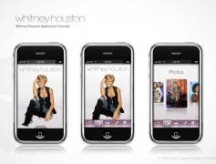 Whitney Houston iPhone App