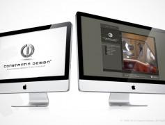 Constantin Designs Website